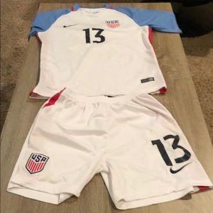 Nike DRI-FIT Alex Morgan 2016 USA uniform